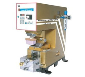 single color pad printing machines