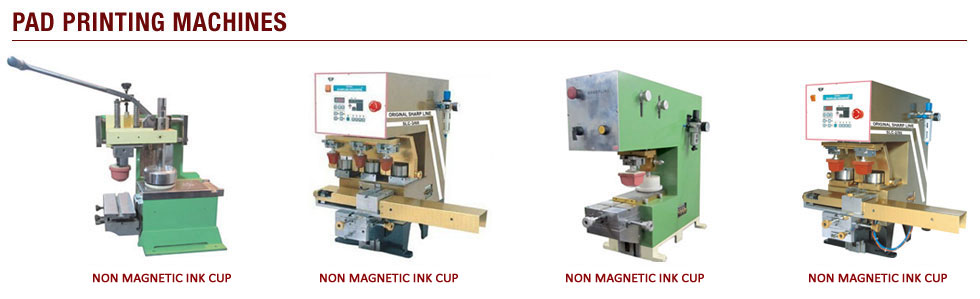 pad printing machines manufacturers